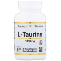 California Gold L-Taurine 1000мг 60капс